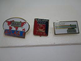PIN'S  LOT 3 BNP - Banken