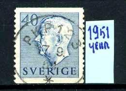 SVEZIA - SVERIGE - Year 1951 - Usato - Used - Utilisè - Gebraucht.- - Suecia