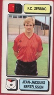 Panini Football Voetbal 83 1983 Belgie Belgique Sticker FC Seraing Liege Luik Nr. 229 Jean-Jacques Bertelsson - Sports