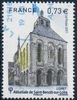 Yt 5146 Abbatiale De Saint Benoit Sur Loire-cachet Neopost - France
