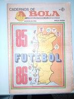 GUIDE DU CHAMPIONNAT DU PORTUGAL 1985/1986 - Revues & Journaux
