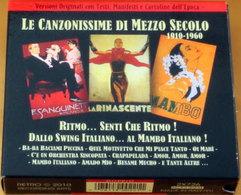 LE CANZONISSIME DI MEZZO SECOLO - 1910-1960 - Musica & Strumenti