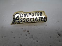 PIN'S    COMPUTER  ASSOCIATES - Computers