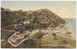 General View Lynton And Lynmouth - Postmark 1951 - M & L National Series - Lynmouth & Lynton