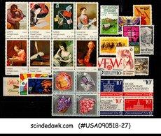 UNITED STATES USA - 1974 COMMEMORATIVE YEAR SET COMPLETE - 28V - MNH - United States