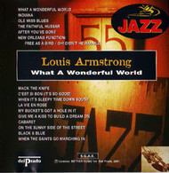 LOUIS ARMSTRONG WHAT A WONDERFUL WORLD - Jazz