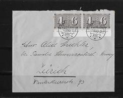 HEIMAT ZÜRICH → Brief Richterswil Nach Zürich 1943 - Schweiz
