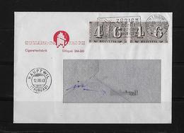 HEIMAT ZÜRICH → Brief Sullana S.A Cigarettenfabrik Nach Hauptwil 1943 - Schweiz
