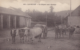 CARTE POSTALE ANCIENNE FRANCE FINISTERE LOPEREC LE NIVOT / JONCOUR N° 935 - France