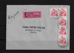 HEIMAT BASEL → Brief Basel Nach Genève Léon Hoeltschi 1948 - Schweiz