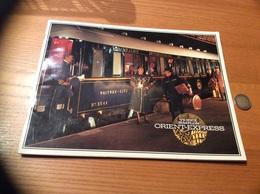 """Catalogue 1982 (24 Pages) """"VENICE SIMPLON ORIENT-EXPRESS"""" Royaume Uni (train, Photo, Plan, Calendrier) - Autres"""