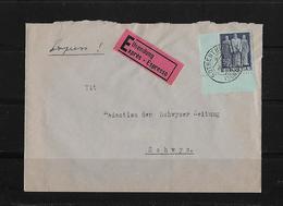 HEIMAT SCHWYZ → Eilsendung Brief Rothenthurm Nach Schwyz 1946 - Schweiz