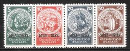 Reich N° 479 à 482 Neufs Sans Gomme Dentelés 10 (reproductions) Voir Description - Allemagne