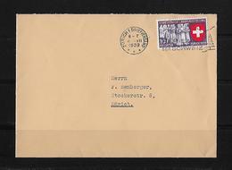 HEIMAT ZÜRICH → Brief Innerhalb Kanton Zürich I.C.Z. Löwenstasse 1  Anno 1939 - Suisse