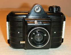 CÁMARA WINAR COMPACTA DE BAQUELITA - Macchine Fotografiche