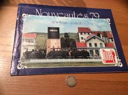 "Catologue 16 Pages ""JOUEF 1979 "" (train, Locomotive, Chemin De Fer, SNCF /maquettes, Voiture, Circuit) - Books And Magazines"