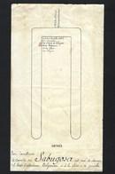 1905 Folha De Protocolo Com Lugar Do CONDE De SABUGOSA Jantar Gala Do Presidente França EMILE LOUBET / Palais L'Elysée - Programmes