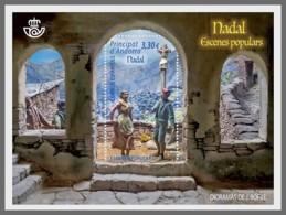 H01 Andorra Spain 2018 Christmas Dioramans MNH Postfrisch - Ungebraucht