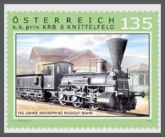 H01 Austria 2018 Rudolf Railway Trains MNH Postfrisch - 1945-.... 2a Repubblica