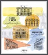 H01 Belgium 2018 Splendid Belgian Mansions MNH Postfrisch - Ungebraucht