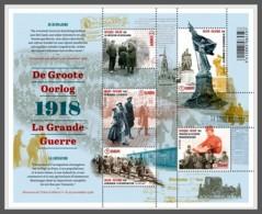 H01 Belgium 2018 The Great War Liberation MNH Postfrisch - Ungebraucht