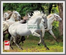 H01 Croatia 2018 Horse Breeds - Lipizzan MNH Postfrisch - Kroatien