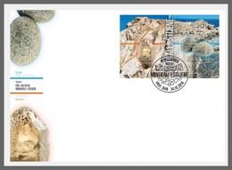 H01 Croatia 2018 Minerals And Rocks FDC - Kroatien