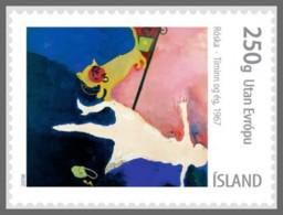 H01 Island 2018 Islensk Myndlist MNH Postfrisch - 1944-... Republique