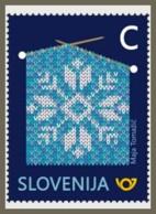H01 Slovenia 2018 Knitting Pattern MNH Postfrisch - Slovénie