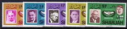 Sharjah 1966 ICY Provisional Set Unmounted Mint. - Sharjah