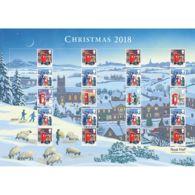 Z06 Great Britain 2018 Christmas Sheet MNH Postfrisch - 1952-.... (Elizabeth II)