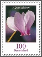 Z07 Germany BRD 2018 Mi 3365 Blumen Alpenveilchen Postfrisch - [7] Repubblica Federale