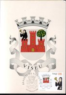 CM 1998 - ECUSSON DE LA VILLE DE VISEU - VERSO VIERGE - - Cartes-maximum (CM)