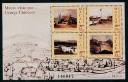 1994-Macau Visto Por George Chinnery - MNH - Blocks & Kleinbögen