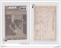 9749 AK/PC/CARTE PHOTO/2018/ BLANCHISSERIE/AU LILAS BLANC/ - Cartoline