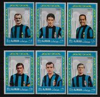 AJMAN   N° 84  PA 30 * *   ( Italie ) ( Cote 8e )  Football  Soccer  Fussball - Nuovi