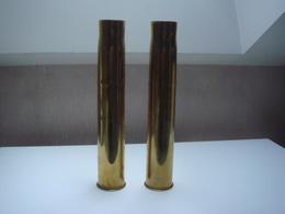 2 Douilles Non Percuté Hauteur 31 Cm - 1939-45