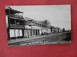 RPPC    Panama  Street In Colon  Ref. 3084 - Panama