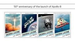 SIERRA LEONE 2018  Apollo 8 Space  S201807 - Sierra Leone (1961-...)