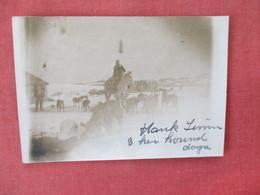 RPPC   Hank Lemmi & His Hound Dogs    Odd Size 3 1/2 X 5 Scotch Tape On Back   Ref. 3084 - Postcards