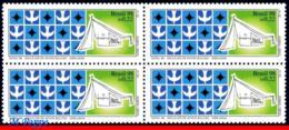 Ref. BR-2697-Q BRAZIL 1998 CHRISTMAS, TILES OF ATHOS BULCAO,, RELIGION, CHURCHES, MI# 2916, BLOCK MNH, 4V Sc# 2697 - Brazil