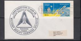 SPACE  - USA-  1982 - SEALIFT COMMAND  USNS REDSTONE  COVER  WITH CAPE CANAVERAL  NOV 18 1982   POSTMARK - Covers & Documents