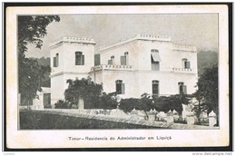 EAST TIMOR Portugues - Circunscrição Civil De LiQUIÇA ( Portugal Colonial ) - Timor Oriental