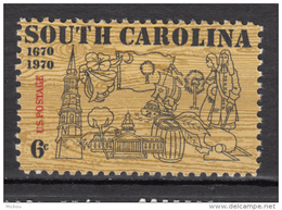USA, MNH, Tabac, Tobacco, Coton, Textile, Cotton, Bateau, Boat, Palmier, Palm Tree, Drapeau, Flag, Baril, Tonneau - Textile