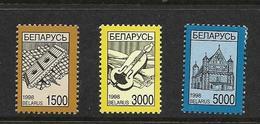 BELARUS-BIELORUSSIE 1999 COURANTS  YVERT N°289/91 NEUF MNH** - Belarus