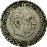 Monnaie, Espagne, Caudillo And Regent, 25 Pesetas, 1968, TTB, Copper-nickel - [ 5] 1949-… : Royaume