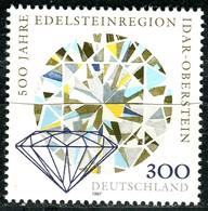 BRD - Mi 1911 - ** Postfrisch (B) - 300Pf  Edelsteinregion Idar-Oberstein - BRD