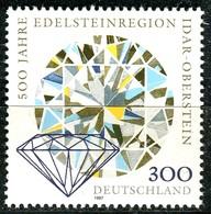 BRD - Mi 1911 - ** Postfrisch (C) - 300Pf  Edelsteinregion Idar-Oberstein - BRD