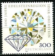 BRD - Mi 1911 - ** Postfrisch (E) - 300Pf  Edelsteinregion Idar-Oberstein - BRD