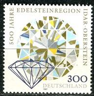 BRD - Mi 1911 - ** Postfrisch (F) - 300Pf  Edelsteinregion Idar-Oberstein - BRD